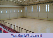 West Gym (W2 basement)