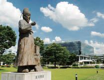 Statue of Jang Yeong-sil