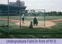 Undergraduate Field(in front of N13)